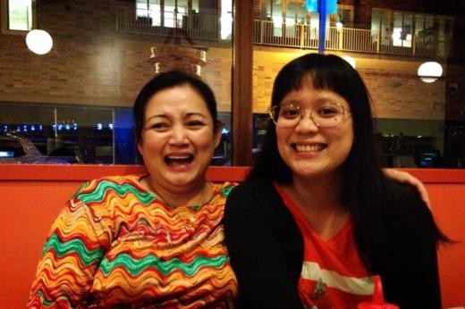 Tina Taruc and Tia Katrina Taruc Canlas: Mother and Daughter Free From Fear